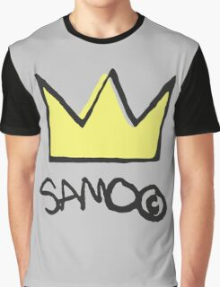 Basquiat SAMO Crown Graphic T-Shirt