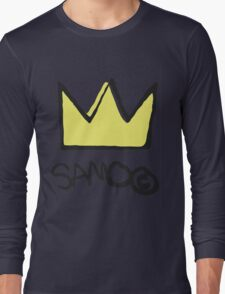 Basquiat SAMO Crown Long Sleeve T-Shirt