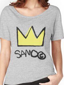 Basquiat SAMO Crown Women's Relaxed Fit T-Shirt