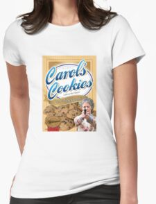 Famous Carol's Cookies Womens Fitted T-Shirt