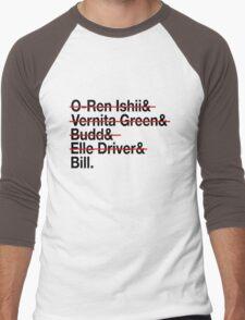 Jetset Death List Five Men's Baseball ¾ T-Shirt