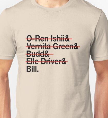 Jetset Death List Five Unisex T-Shirt