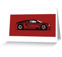 2014 Bugatti Veyron 16.4 Super Sport L´Or Rouge Greeting Card