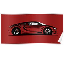 2014 Bugatti Veyron 16.4 Super Sport L´Or Rouge Poster