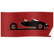 2015 Bugatti Veyron Grand Sport Vitesse La Finale Poster