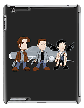 Sam, Dean, Cas - Supernatural by rexraygun