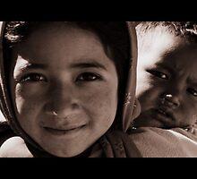 Siblings, Nepal 2009 by LeighBlake