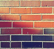 brick wall by gatheringwonder