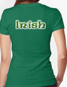 Irish, Ireland, Eire, Emerald Isle, St Patricks Day, On White T-Shirt