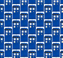 TARDIS Plain & Simple by zenjamin