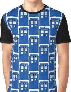 TARDIS Plain & Simple Graphic T-Shirt