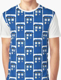 TARDIS Plain & Simple Graphic T-Shirt