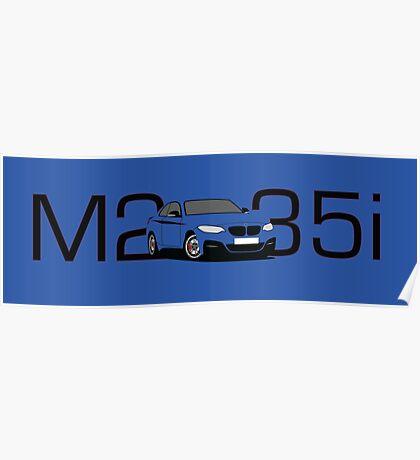 BMW M235i Poster