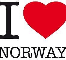 I ♥ NORWAY by eyesblau