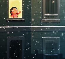 It's snowing! by tonyneal