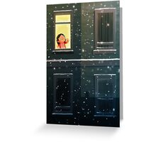 It's snowing! Greeting Card