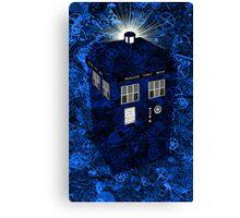 TARDIS Illustrated- Clockwork Canvas Print