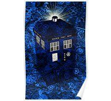 TARDIS Illustrated- Clockwork Poster