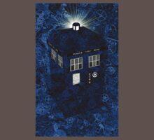 TARDIS Illustrated- Clockwork One Piece - Short Sleeve