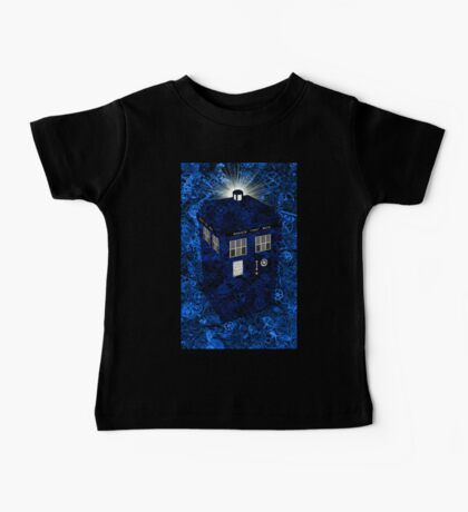 TARDIS Illustrated- Clockwork Baby Tee