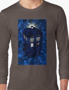 TARDIS Illustrated- Clockwork Long Sleeve T-Shirt