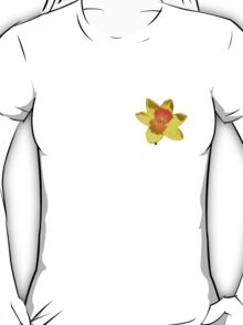 Yellow and Orange Colored Daffodil Close Up T-Shirt