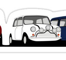 Classic Mini Cooper S - The Italian Job Sticker
