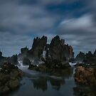 Cathedral Rock in Moonlight by pablosvista2