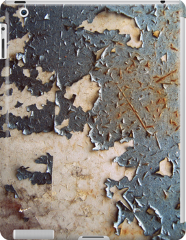 Paint Peeling ipad case by Vanessa Barklay
