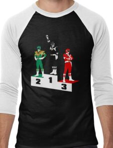Black Ranger Power Men's Baseball ¾ T-Shirt