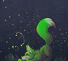 Firefly Fox - Green by Zhivago
