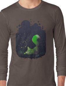 Firefly Fox - Green Long Sleeve T-Shirt