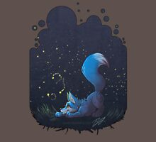 Firefly Fox - Blue Unisex T-Shirt