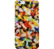 Starry halftone iPhone Case/Skin