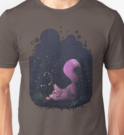 Firefly Fox - Pink Unisex T-Shirt