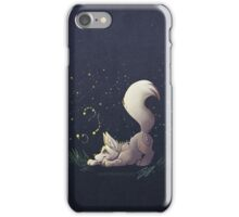 Firefly Fox - White iPhone Case/Skin