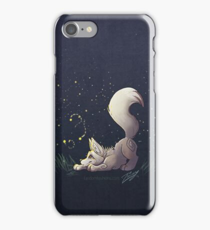 Firefly Fox - White iPhone Case/Skin