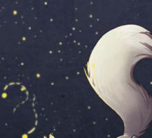 Firefly Fox - White Sticker