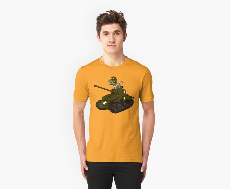 T-Rex in a Tank by ZugArt