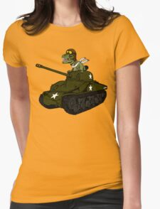 T-Rex in a Tank T-Shirt