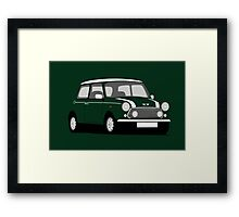 Classic Mini Cooper S Works Framed Print