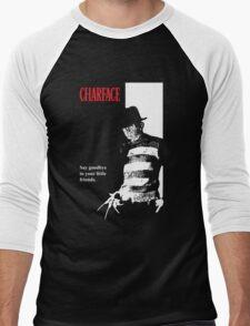 Charface Men's Baseball ¾ T-Shirt