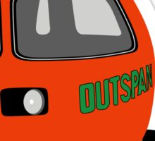 Classic Mini Outspan Sticker