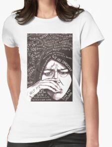 We Are the Same Womens Fitted T-Shirt