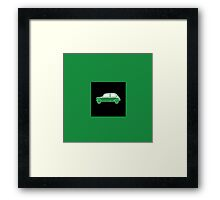 Classic Mini Side Framed Print
