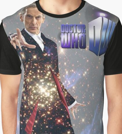 Galactic Peter Capaldi Graphic T-Shirt