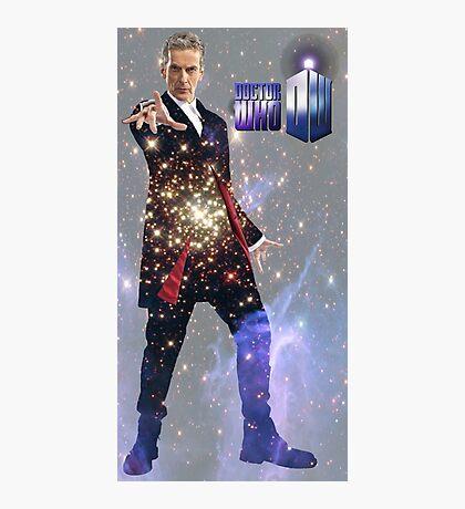 Galactic Peter Capaldi Photographic Print