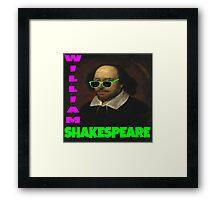 William Shakespeare, London Calling Framed Print