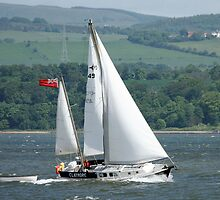 Claymore under sail by UpperForthBC