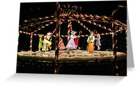 Nine Ladies Dancing by AnnDixon
